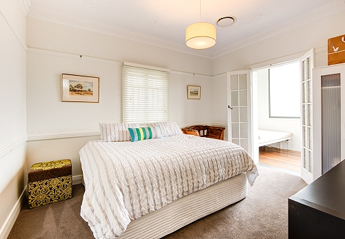 Brisbane custom home bedroom