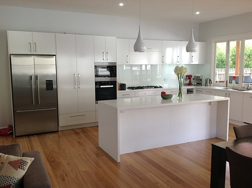 Brisbane custom home kitchen