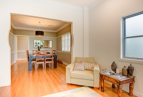 Queenslander renovation dining room