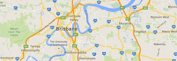 map of inner brisbane suburbs