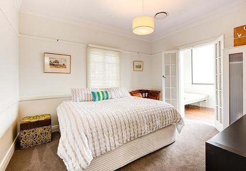 Brisbane custom home bedroom