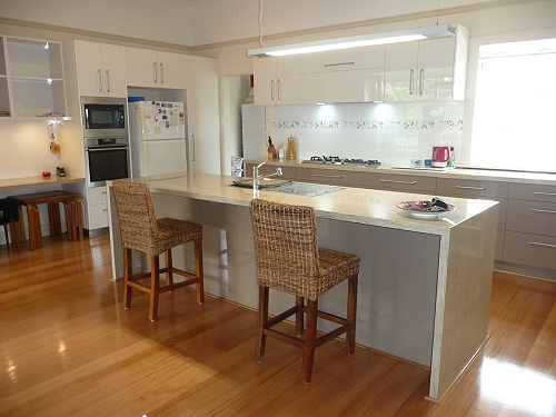 Brisbane custom house design kitchen