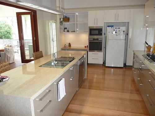 Renovation Brisbane kitchen and deck